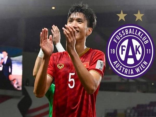 CLB Austria Wien muốn chiêu mộ Văn Hậu