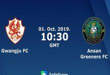 Nhận định Gwangju vs Ansan Greeners, 17h30 ngày 01/10