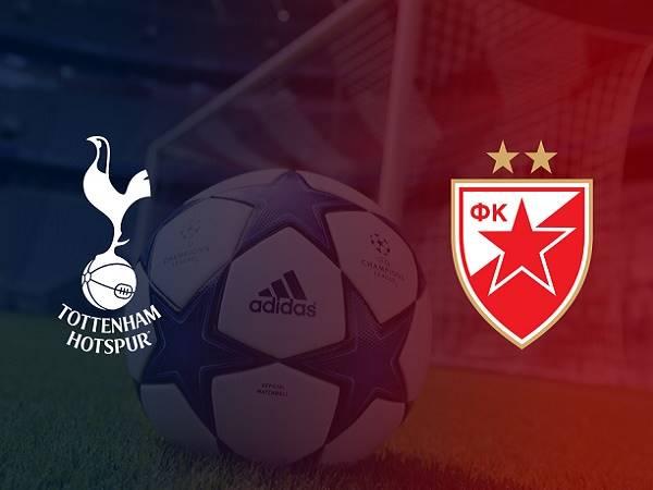 Nhận định Tottenham vs Crvena Zvezda, 2h00 ngày 23/10