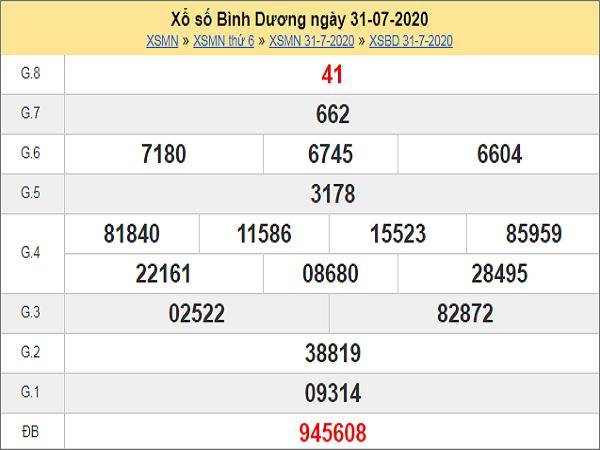 Soi cầu KQXSBD- xổ số bình dương thứ 6 ngày 07/08 của các cao thủ