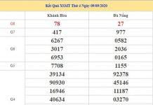 Soi cầu XSMT 16/9/2020 chốt số đẹp miền Trung thứ 4
