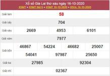 Soi cầu XSGL 23/10/2020 chốt lô số đẹp Gia Lai thứ 6