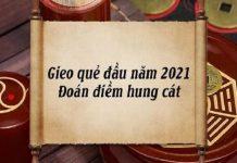 Gieo quẻ đầu năm 2021 online ở đâu?