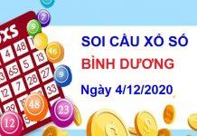 Soi cầu XSBD ngày 4/12/2020