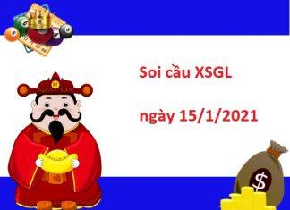 Soi cầu XSGL 15/1/2021