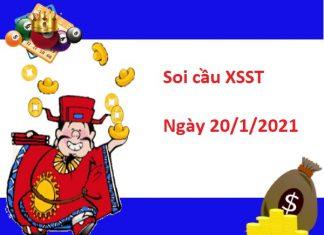 Soi cầu XSST 20/1/2021