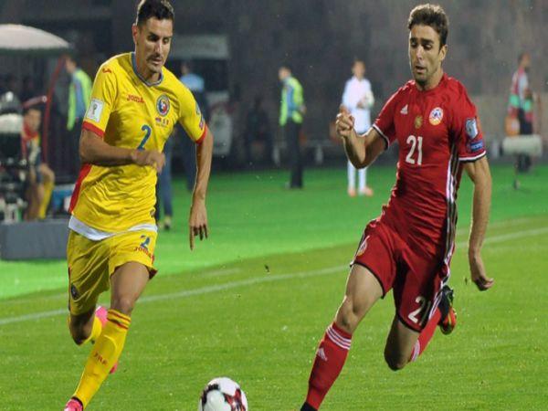 Nhận định tỷ lệ Armenia vs Romania, 23h00 ngày 31/3 - VL World Cup