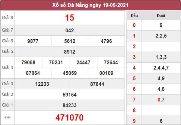Soi cầu KQXS Đà Nẵng 22/5/2021 thứ 7 cùng cao thủ
