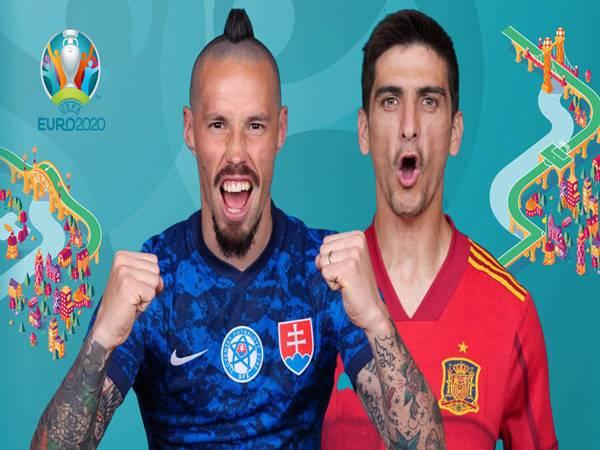 Nhận định Slovakia vs Tây Ban Nha, 23h00 ngày 23/6 Euro 2020