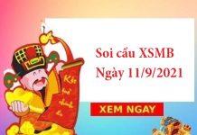 Soi cầu XSMB 11/9/2021