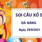 Soi cầu xổ số Đà Nẵng ngày 29/9/2021