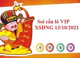 Soi cầu lô VIP XSDNG 13/10/2021